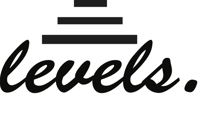 levels black logo